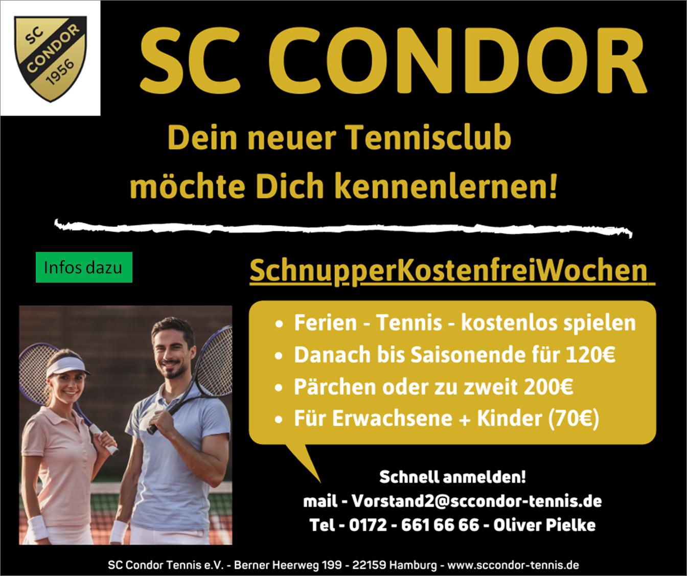 Tennis Condor